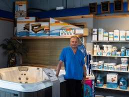 Dave Bergeron, owner of Snow Valley Spa and Leisure Inc. in Fernie.