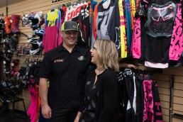 Kevin and Kristie Raduenz, owners of Rough Country Marine in Revelstoke.