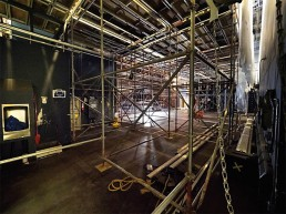 Key City Theatre, Cranbrook, under renovations.