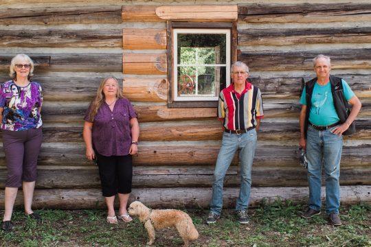 Cabin Preserves Pioneer Life