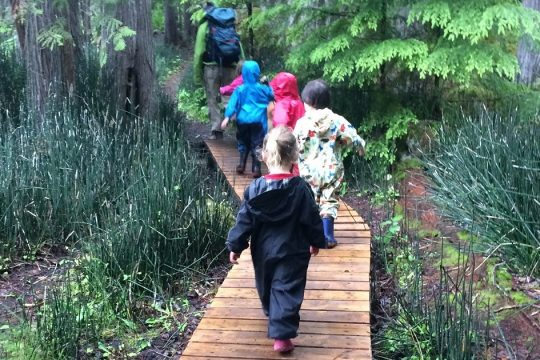 Win-win: Kids Stay Safe and Get Outdoors